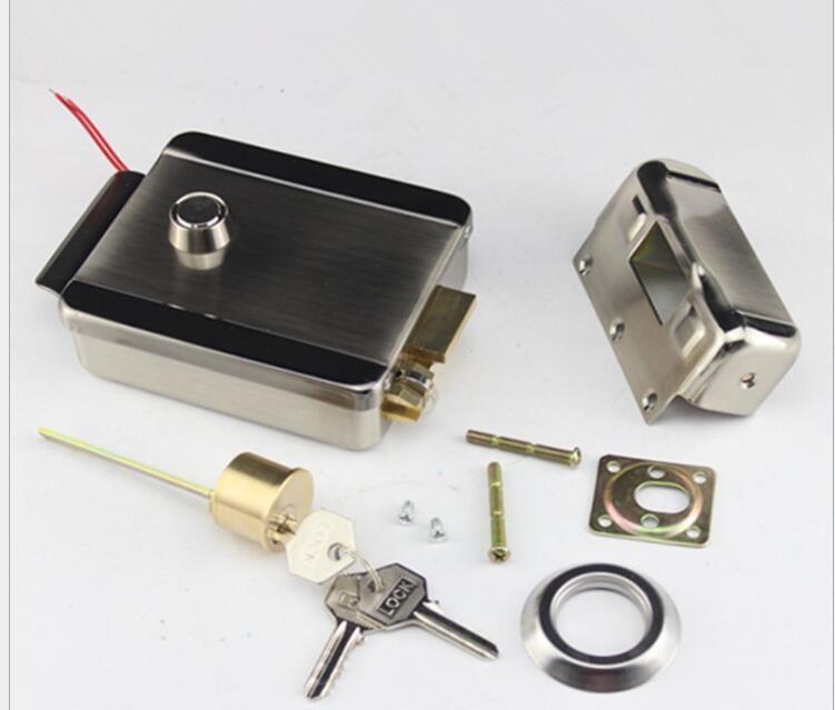 Electric Lock Electronic Door Lock For Video Intercom Doorbell Door Access Control System Video Door Phone Access Control System Electric Lock Video Door Phone