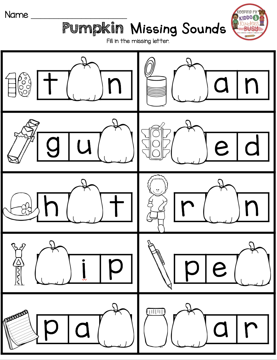 October Math and Literacy Pack – FREEBIES | october | Pinterest ...