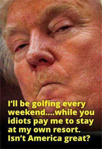 """The """"Great Con Man"""" #TrumpsAmerica"""