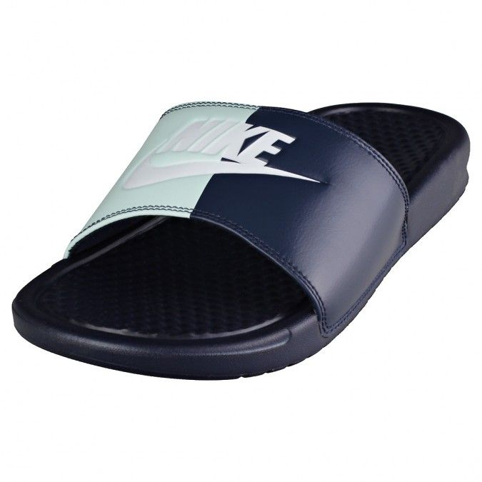 746e0282beb9 Nike Benassi Jdi Womens Slide in Obsidian White