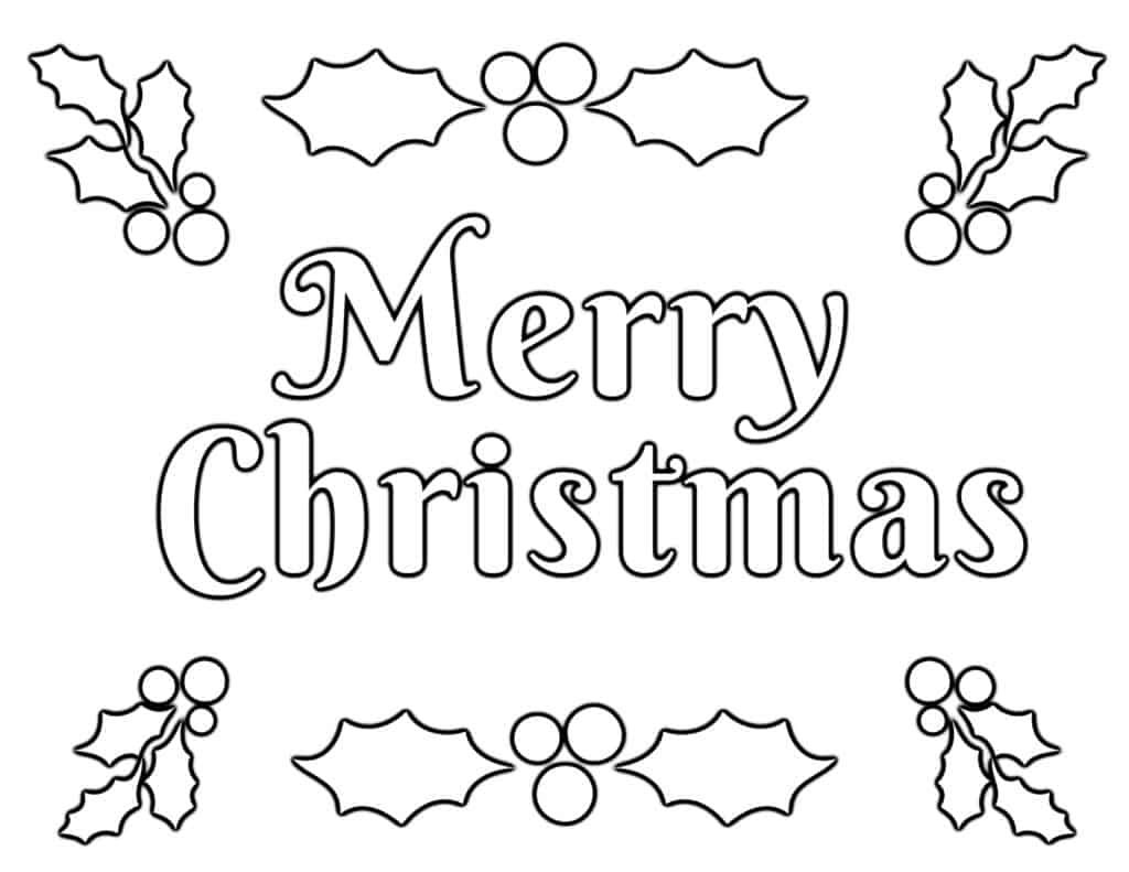 Christmas Coloring Pages For Kids 100 Free Easy Printable Pdf Printable Christmas Coloring Pages Christmas Coloring Pages Merry Christmas Coloring Pages