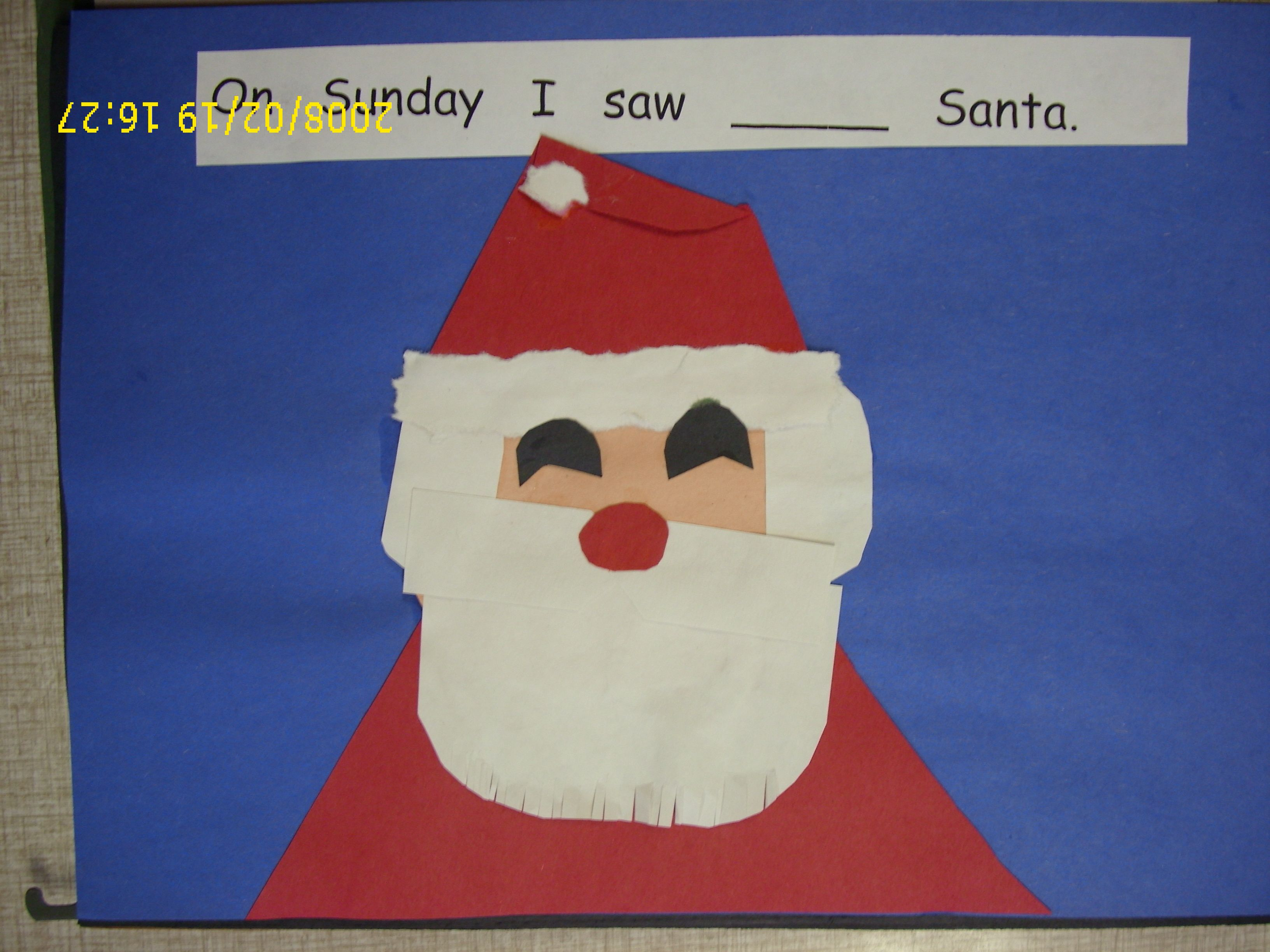 TLC Art Projects Christmas week book On