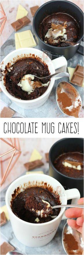 Chocolate Mug Cakes! Easy and Delicious Chocolate Mug ...