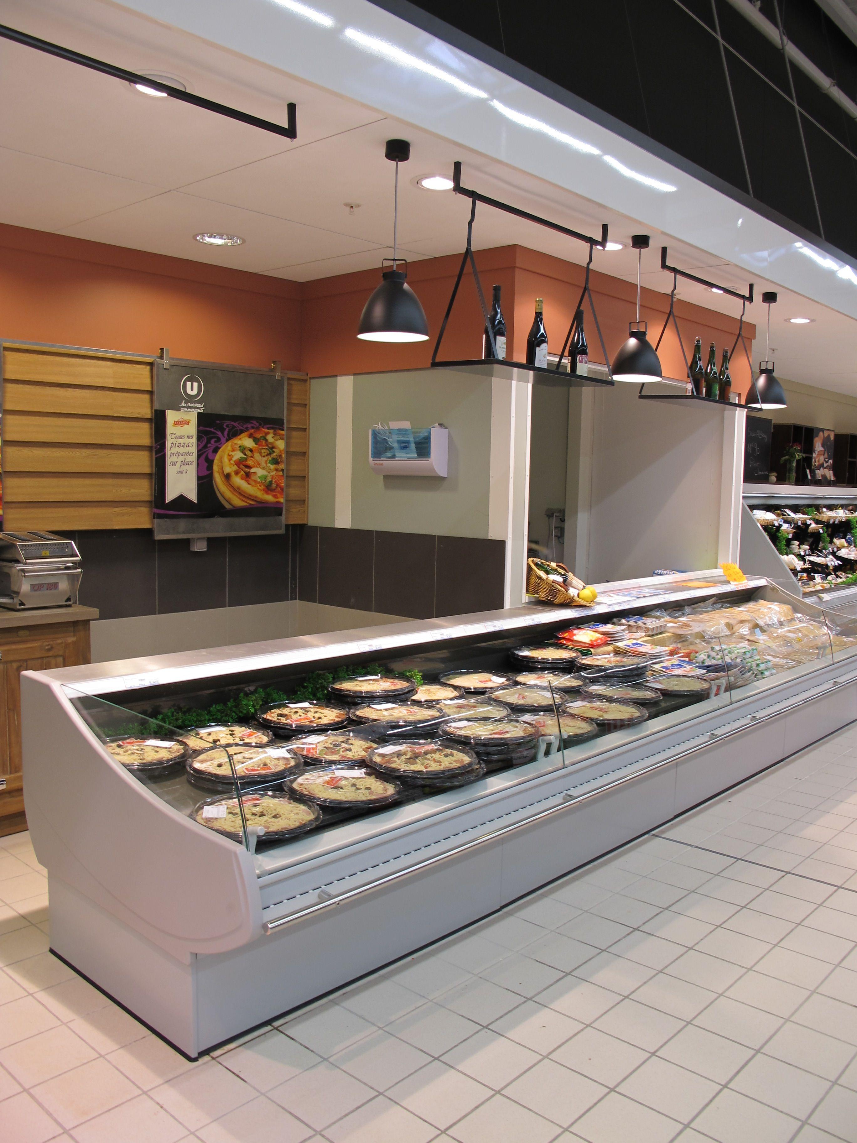 Rayon Traiteur Supermarche Grande Distribution Etalages De Magasin Agenceur