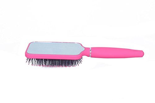 Luxury Paddle Brush With A Mirror The Original Luxury Paddle Brush With Mirror From Tistyle Is The Best Professional Paddle B Hair Type Paddle Brush Hair Brush