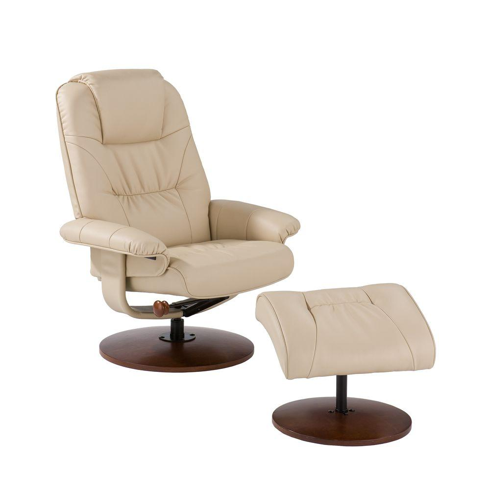 Small Leather Recliners With Ottoman Recliner With Ottoman