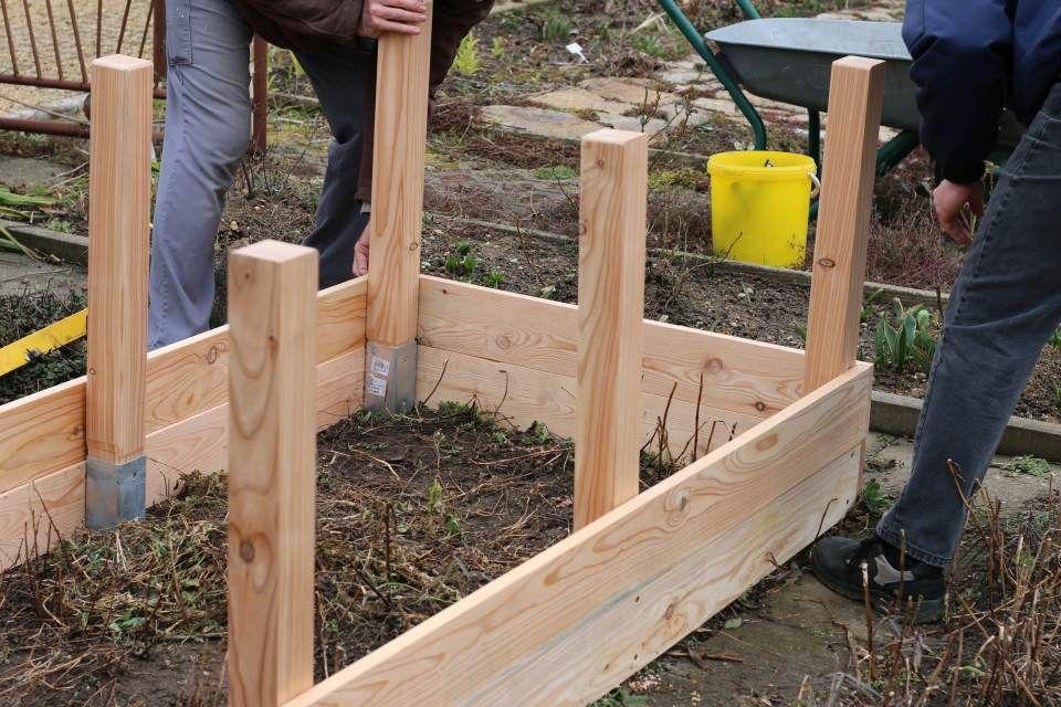 Einfaches Hochbeet selber bauen - Teil 1 | Hochbeet selber bauen ...