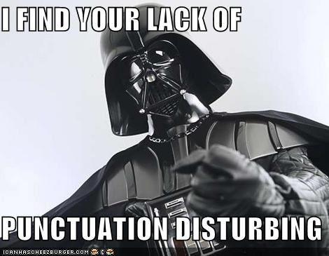 Darth Vader S I Find Your Lack Of Faith Disturbing Teaching Memes English Teacher Humor Teacher Memes