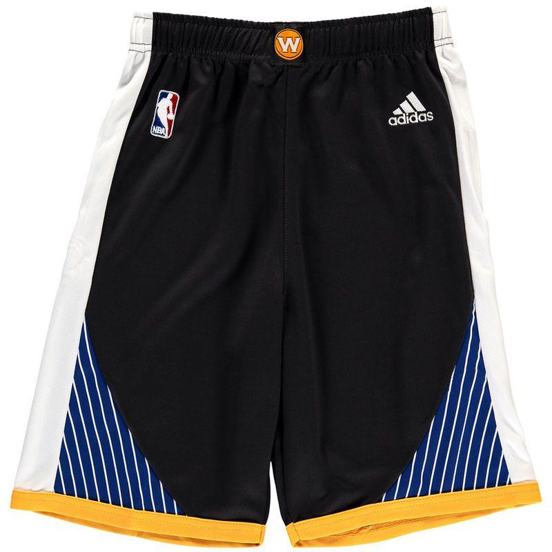 Golden State Warriors adidas Youth Replica Shorts - Black  5db11f2b2