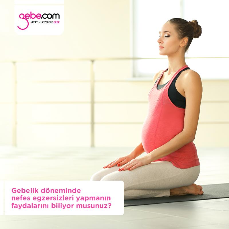 Gebelik döneminde nefes egzersizleri yapmanın faydalarını biliyor musunuz?  Nefes egzersizleri, vücut ağrılarını azaltması ve doğumu kolaylaştırmasının yanı sıra anne adayı için meditasyon görevi görür. Olumsuz düşünceleri zihinden uzaklaştırarak, negatif enerjiyi yok eder.