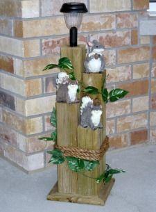 Solar light wood crafts woodworks crafts samson 39 s for Solar lights for craft projects