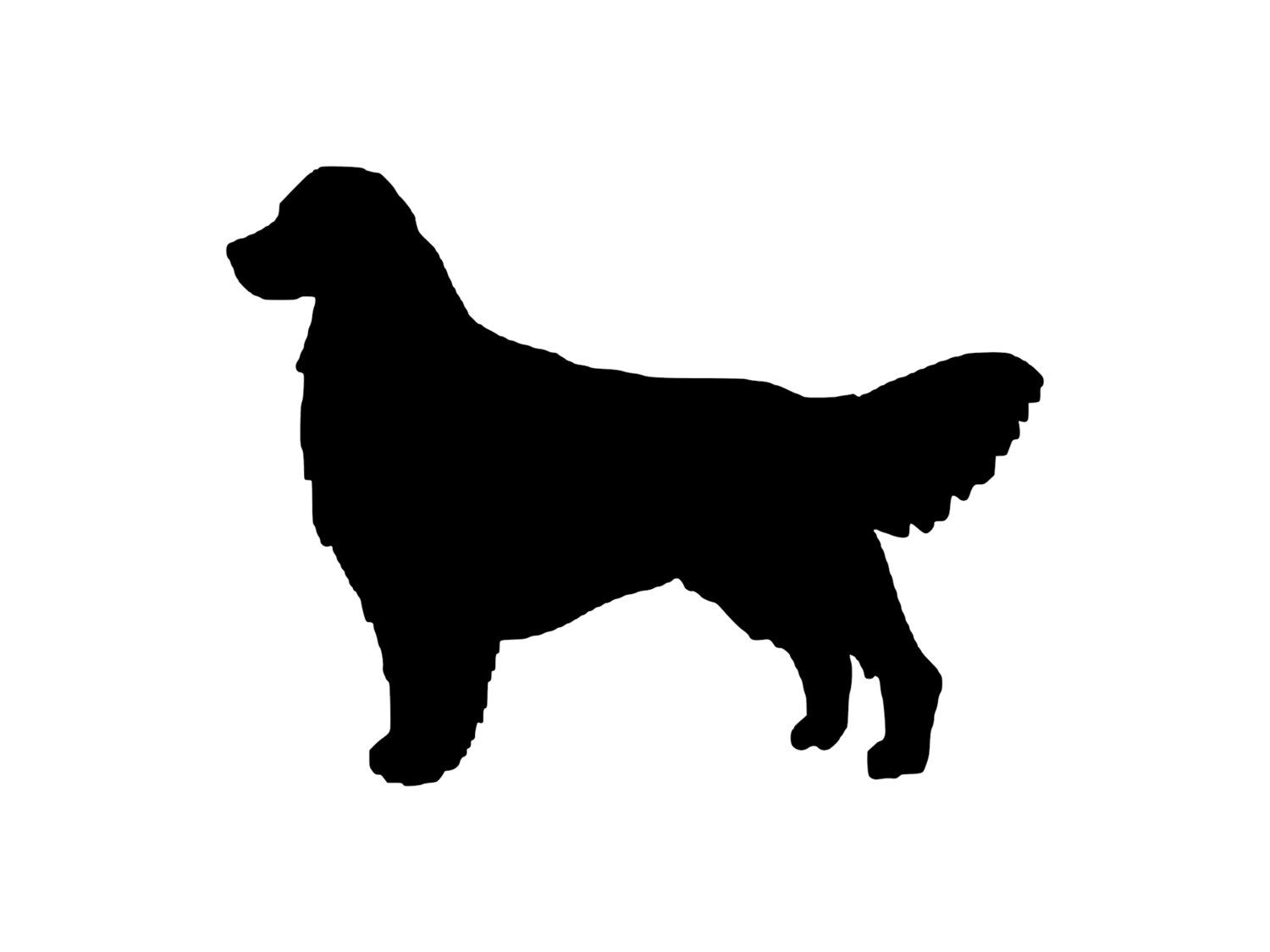 Grab Your Golden Retriever Dog Outdoor Vinyl Silhouette K9 Breed