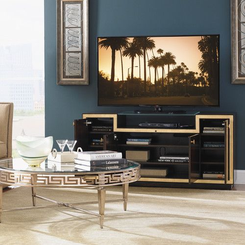 Best Paramount Bel Aire Tv Stand For Tvs Up To 75 Gold Tv Stand Cool Tv Stands Tvs 400 x 300