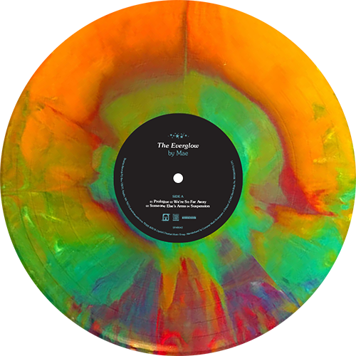 Mae The Everglow Colored Vinyl In 2020 Vinyl Artwork Vinyl Record Art Vinyl Records