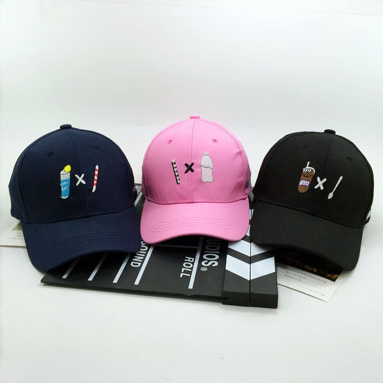 35d9d9d7cc0 Fashion Baseball Cap Women 2017 New Arrival Gorras Korea Ulzzang Harajuku  Novelty Food Snapback Caps Couple
