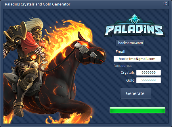 Get the Paladins Hack Unlimited Crystals 2017 last version  Here is