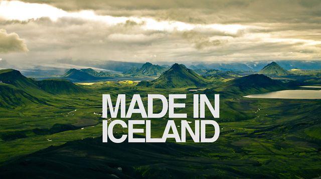 MADE IN ICELAND. Video by Klara Harden.
