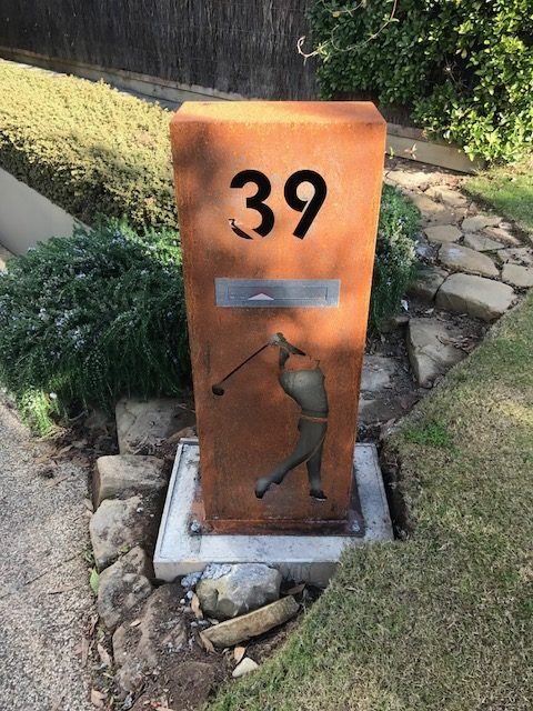 Your Geelong Home Or Business Will Stand Out With A Custom Made Corten Steel Letterbox From Urban Metalwork Optional Li Corten Steel Corten Bottle Opener Wall