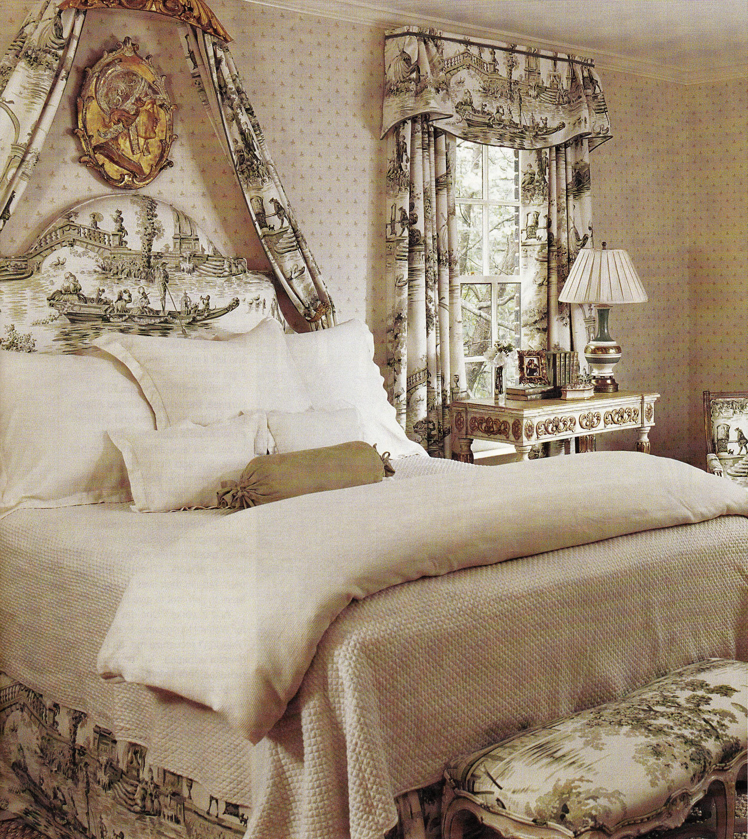 Bedroom Decorating Ideas Totally Toile: What Would Kipper Think If He Came Back And This Was Our