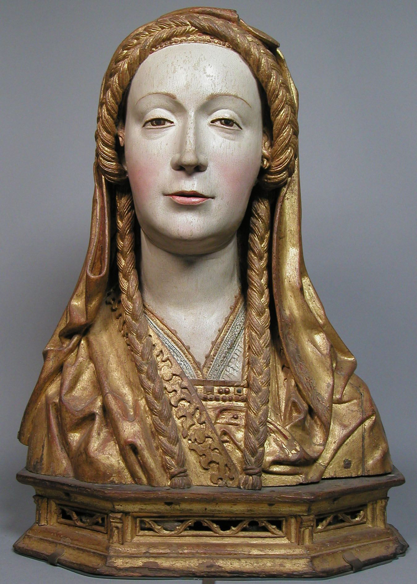 Reliquary Bust of a Female Saint South Netherlandish