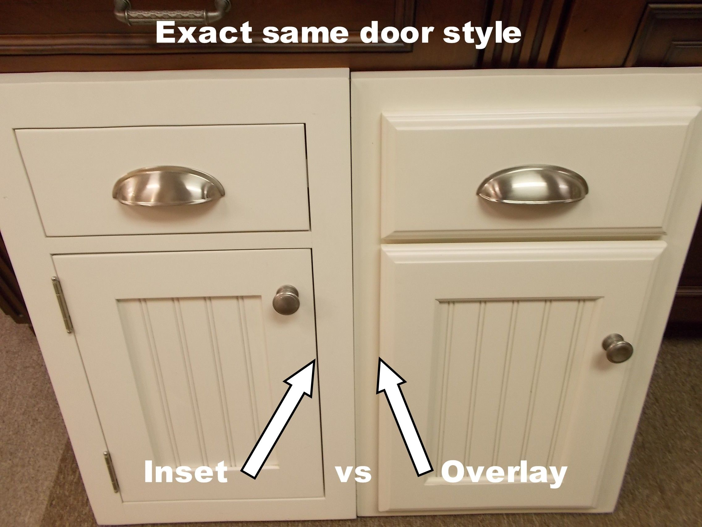 inset kitchen cabinetsbeaded inset vs plain inset | diy castle