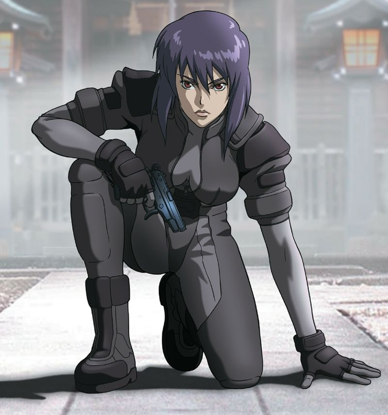 Major Motoko Kusanagi From Ghost In The Shell!