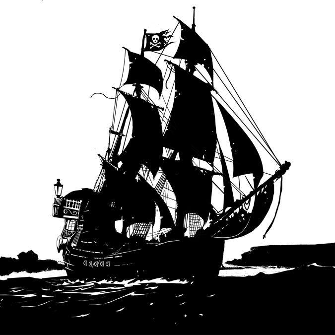 Jolly Roger By Scott M Fischer Pirate Ships Pinterest Dessin