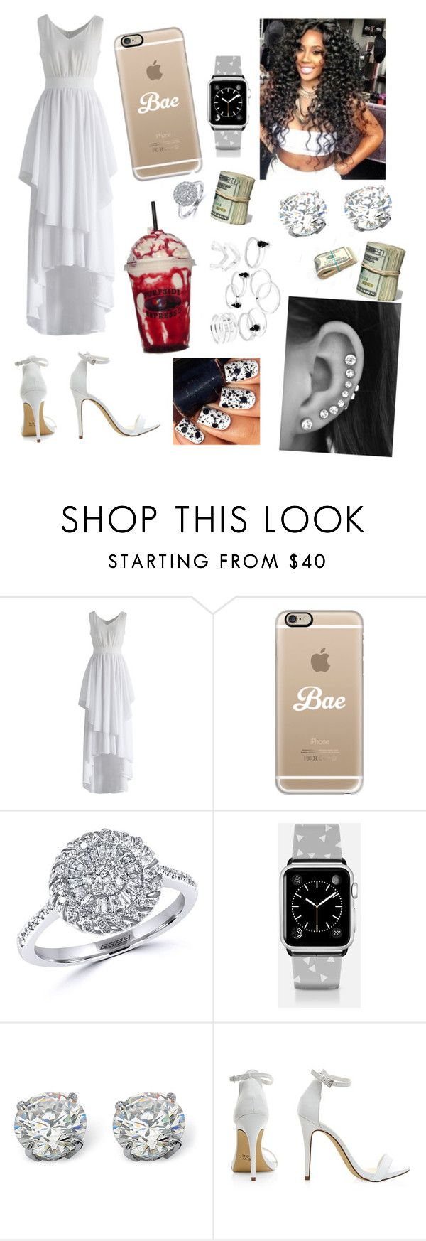 """""""#365"""" by aneysajslexander ❤ liked on Polyvore featuring Chicwish, Casetify, Effy Jewelry and Palm Beach Jewelry"""