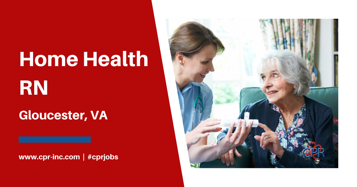 HOME HEALTH RN in 2020 Nursing jobs, Healthcare