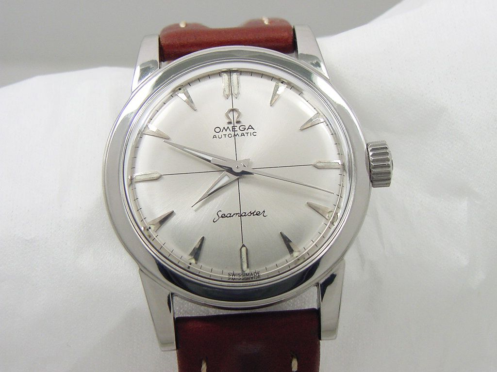 1951 omega seamaster automatic vintage mens watch omega pinterest omega seamaster for Omega watch vintage