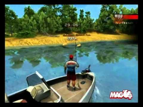 The best Wii U Fishing Game is Rapala's Pro Bass Fishing