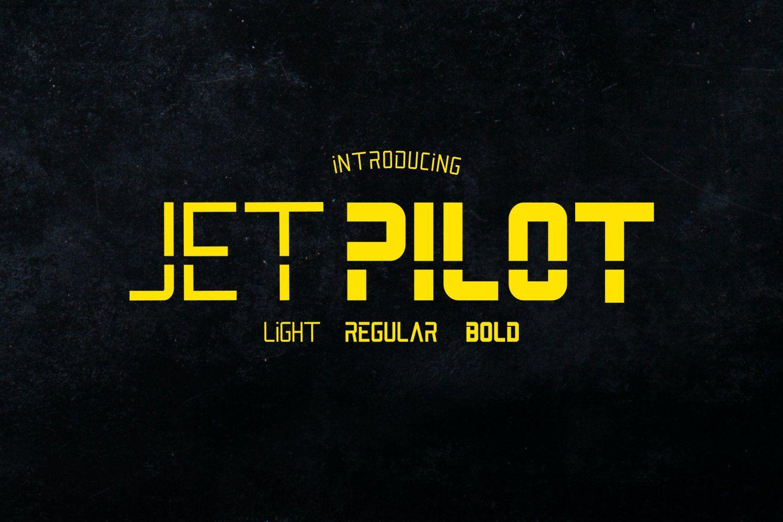 Jet Pilot Sans Family in 2020 Sports fonts, Pretty