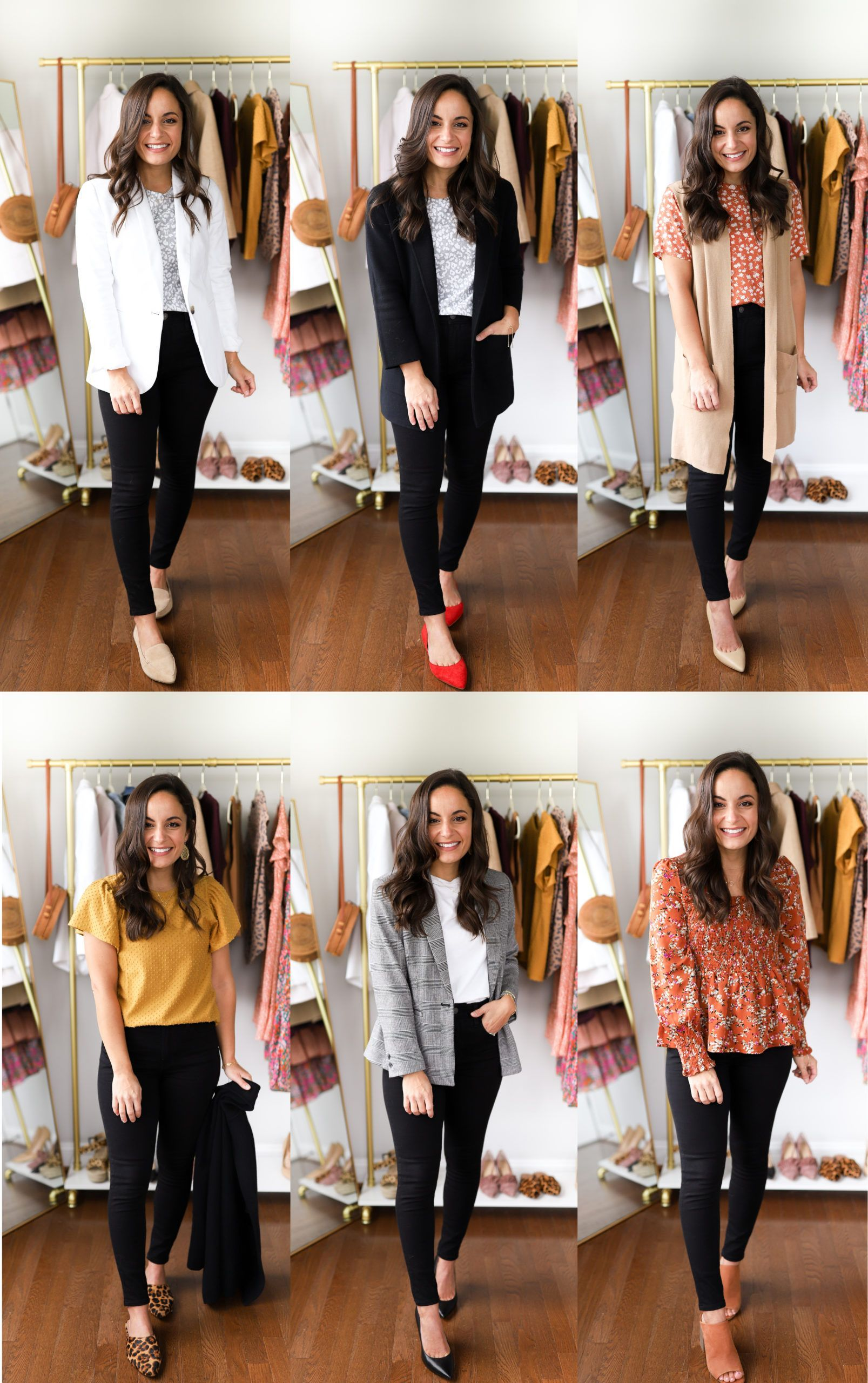 Six Ways to Wear Black Jeans to Work | Pumps & Push Ups