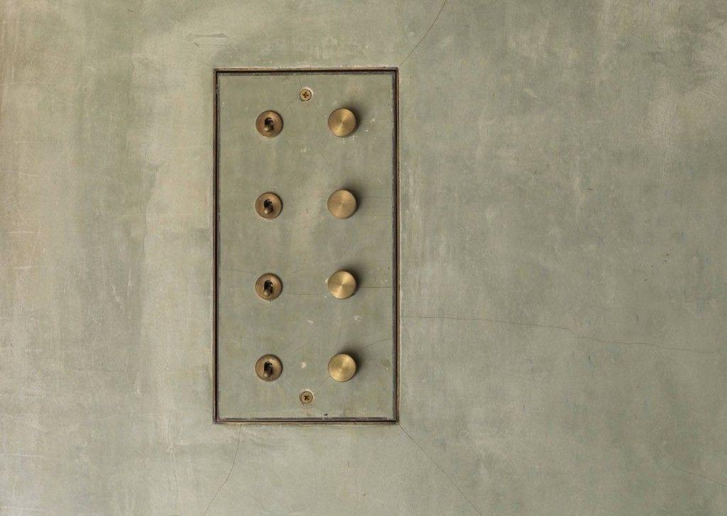Light switch, Studio Mumbai