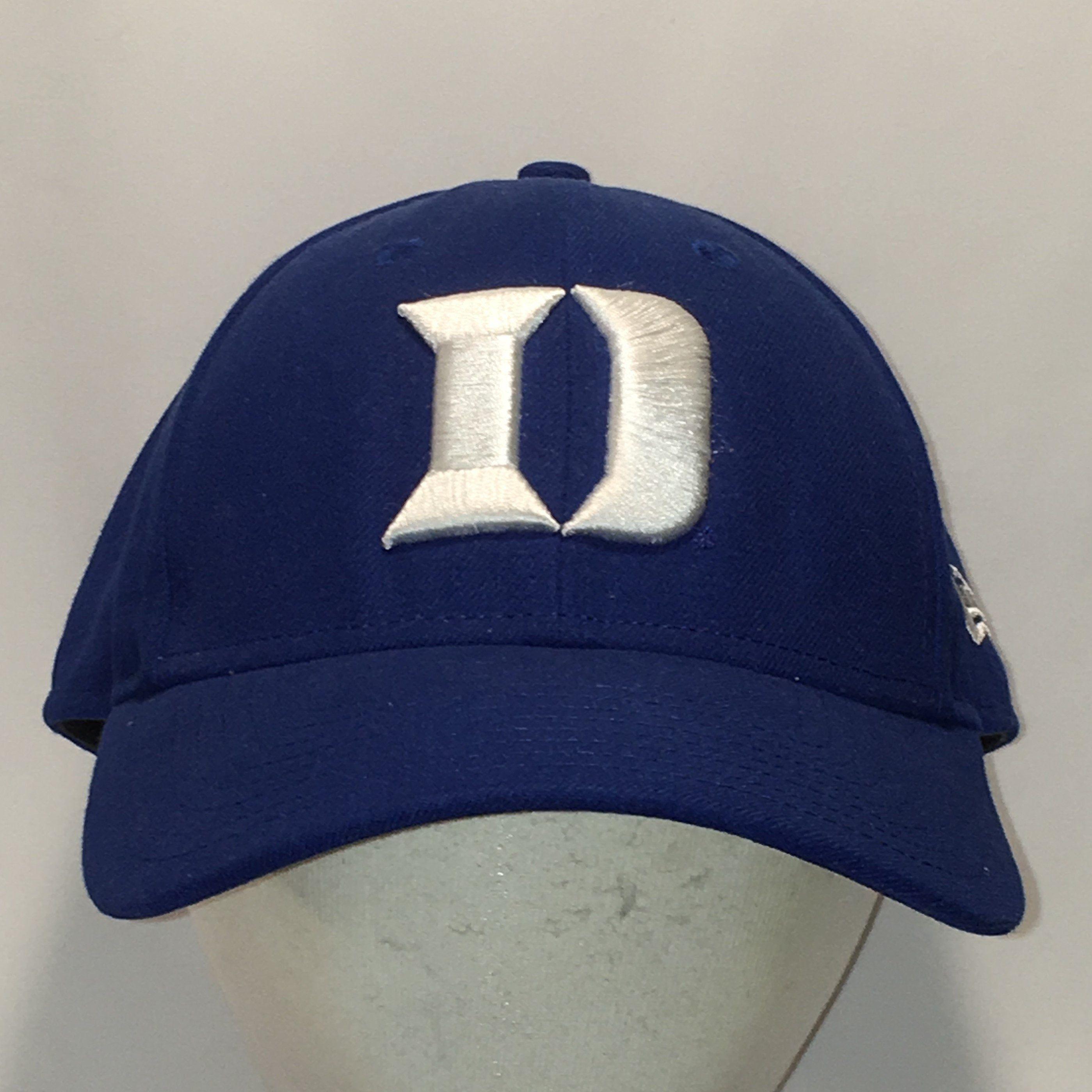 best sneakers wholesale dealer arriving Vintage Duke University Hat Blue White Big D Baseball Cap Blue ...