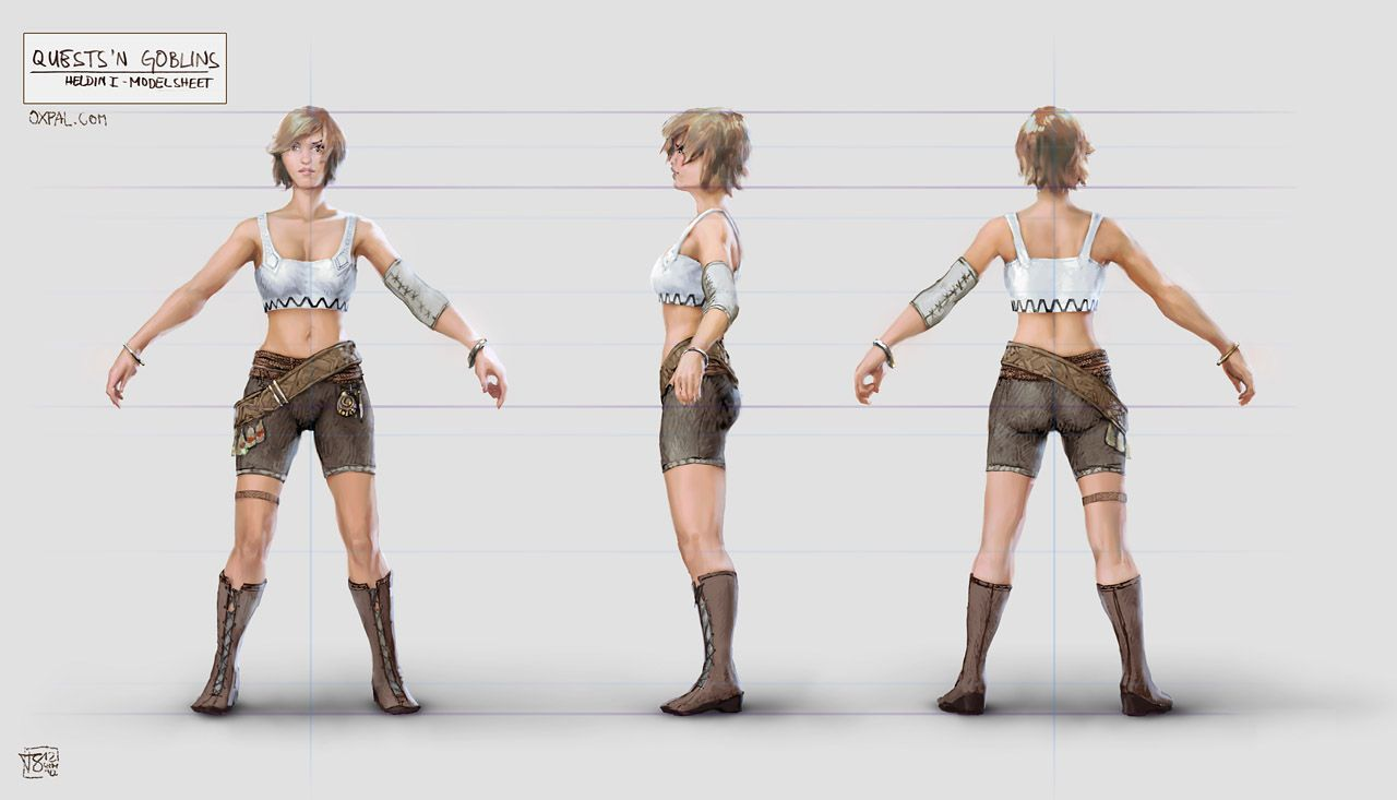 Fantasy Character Design Sheet : Female game character sheet google search vizrez