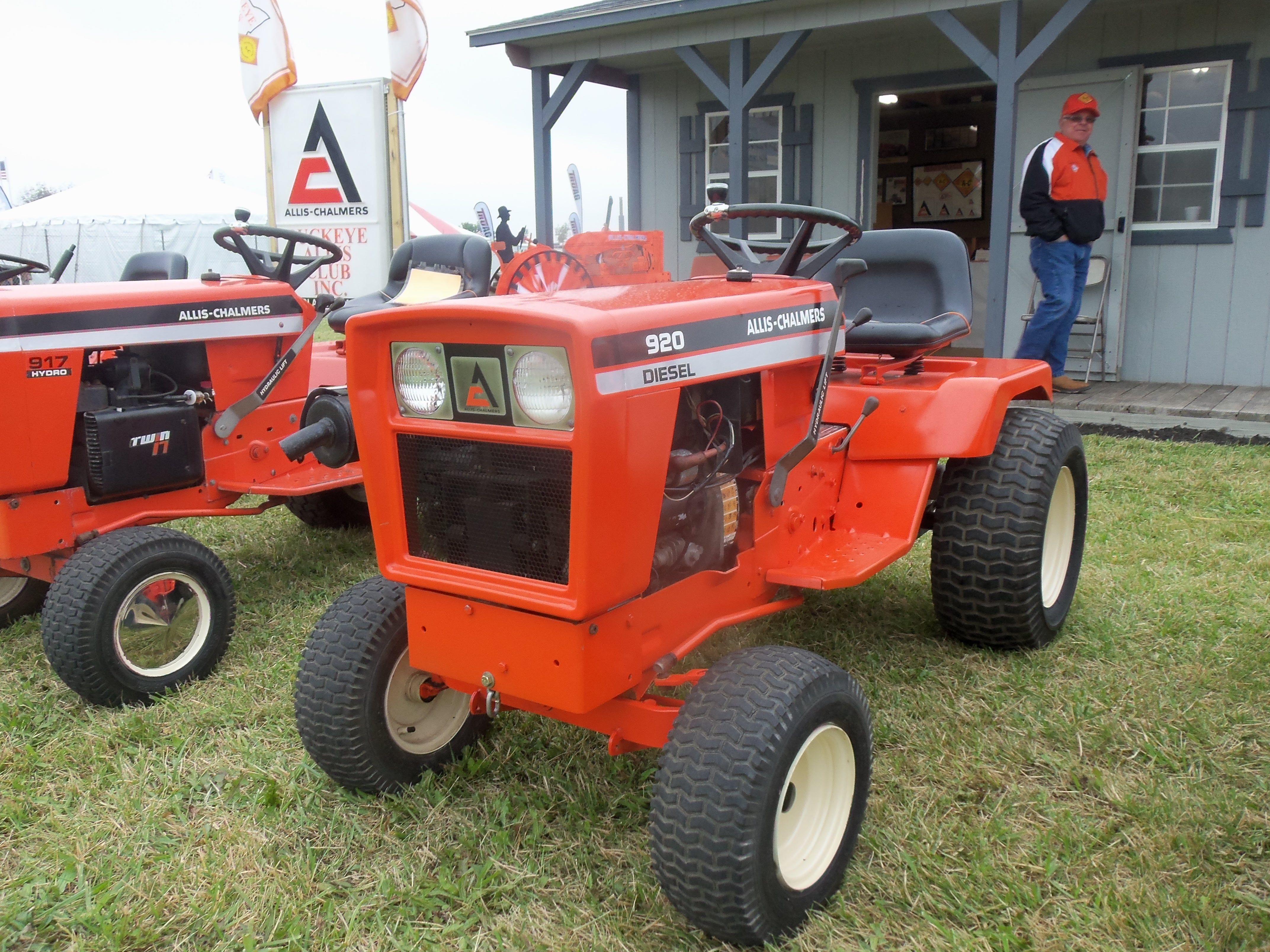 Allis Chalmers 920 Lawn U0026 Garden Tractor.
