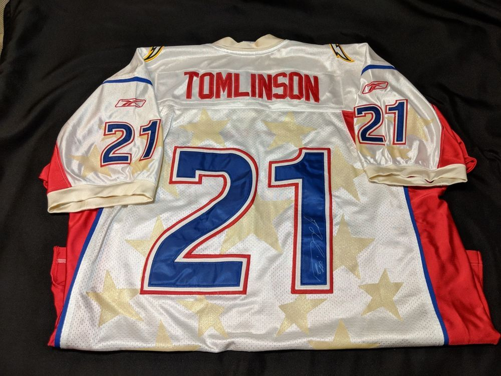 8c0f752f2e5 LaDainian Tomlinson Autographed Football Jersey Signed Pro Bowl Chargers  HOF #Reebok #SanDiegoChargers #football #nfl #nflfootball #nflfootballboys  #probowl ...