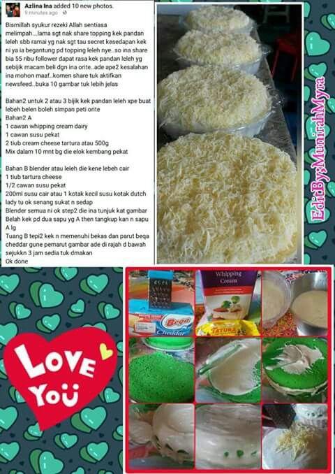 recipe: resepi kek mango cheese leleh [5]