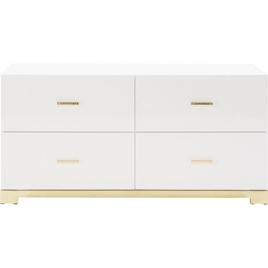 Shop Odessa Low White Dresser Designed By Mark Daniel Of Slate