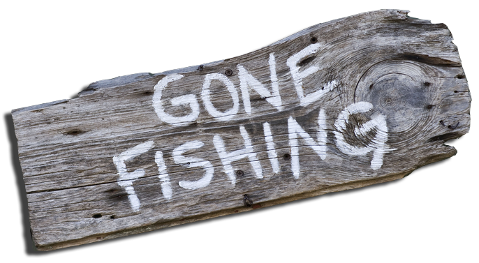 Gone Fishing Sign Blogconciergepreferredcom40 Things To Do With Delectable Gone Fishing Signs Decor
