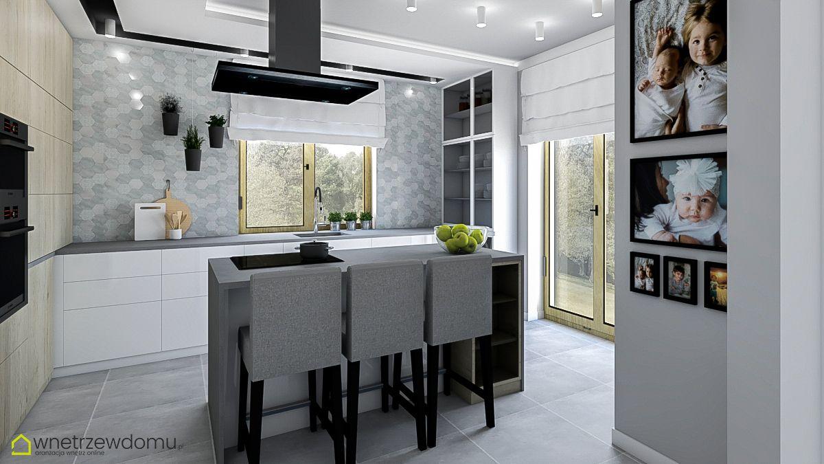 Szara Stylowa Kuchnia Home Decor Home Furniture