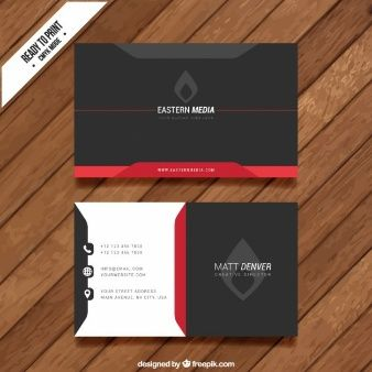 Carto de visita abstrato preto visit cards logos and business cards business cards colourmoves Images