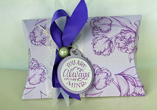 TLC554 Tulip Pillow Box