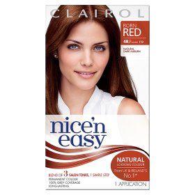 Nice N Easy Permanent Hair Colour Natural Dark Auburn 4r