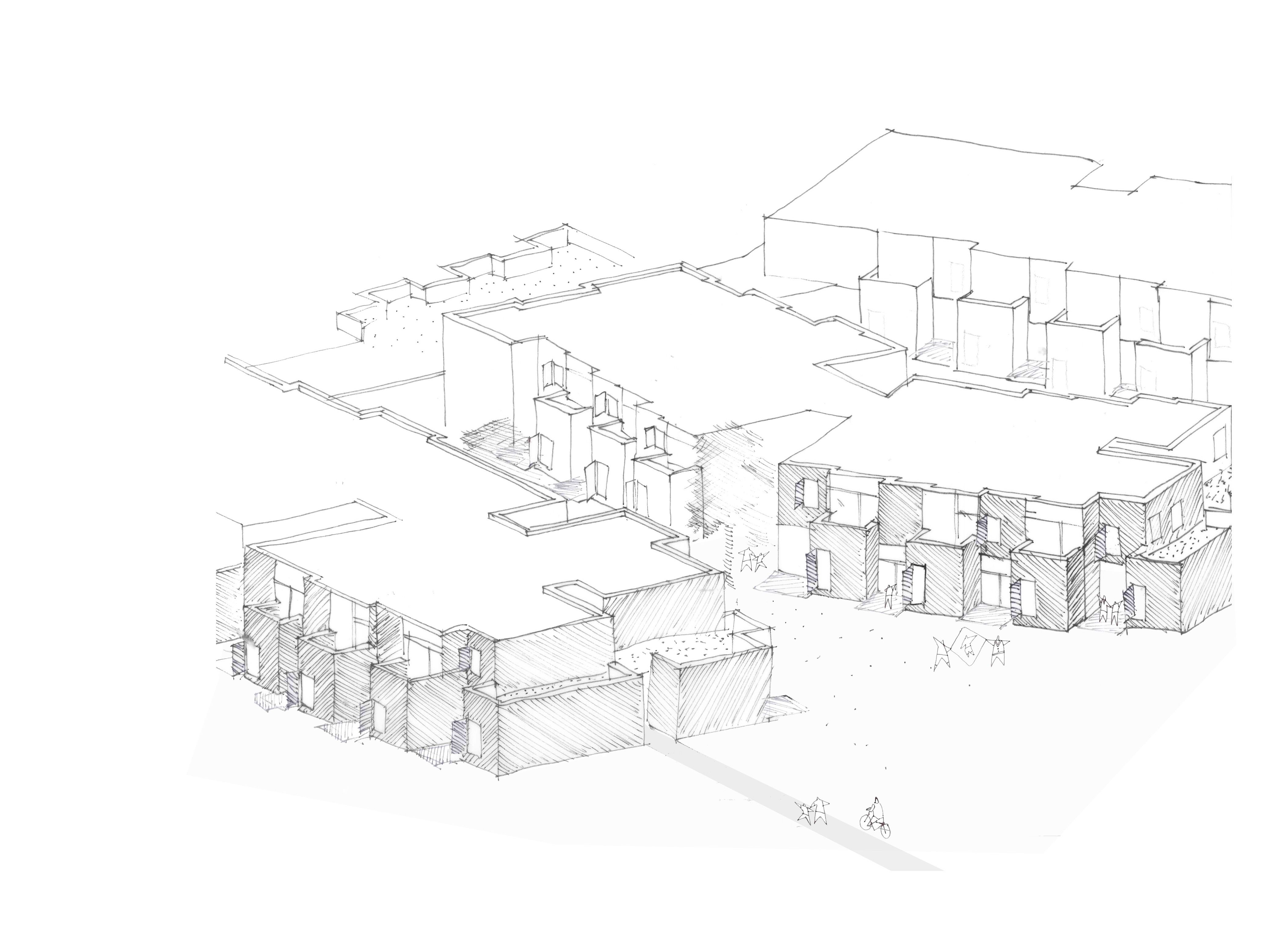 1227MBU uitbreiding van een woonzorgcentrum te malle i.o.v. lava architecten (lp + avd)