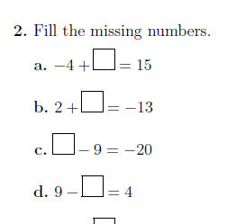 Adding And Subtracting Positive And Negative Numbers Worksheet No 5 With Solutions Negative Numbers Worksheet Negative Numbers Number Worksheets