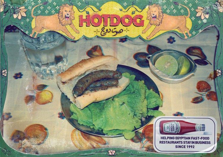 Heinz campaign imagens) Publicitários