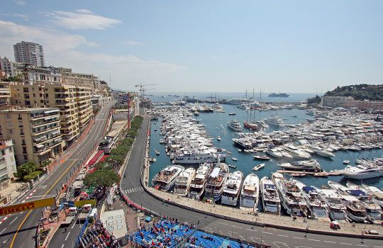 Monaco's Grand Prix in grand style   Experience Monaco's social and sporting event of the season like royalty with this itinerary from Exclusive GP. starts with limousine pickup at your home, private jet service to Nice, France, helicopter transfer to Monte Carlo and three nights at the posh Metropole Hotel.