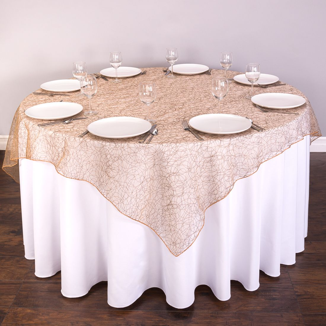 Our Beautiful Table Overlays Take The Subtlety Of Sheer Delicate Organza To A Whole New Dimension